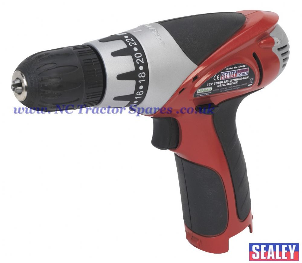 Cordless Lithium-ion Drill/Driver 12V